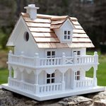 Architectural Birdhouse (New England Dweller)