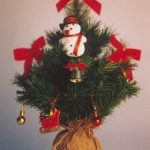 Christmas Bonsai Tree (Artificial) – 19 (Fraser Fir)