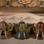 Hand Painted Cloisonne Bells – Set of 3
