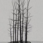 Wire Bonsai Tree Sculpture – Forest Scene